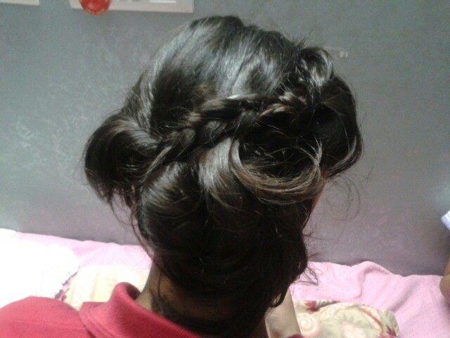 Party hairupdo