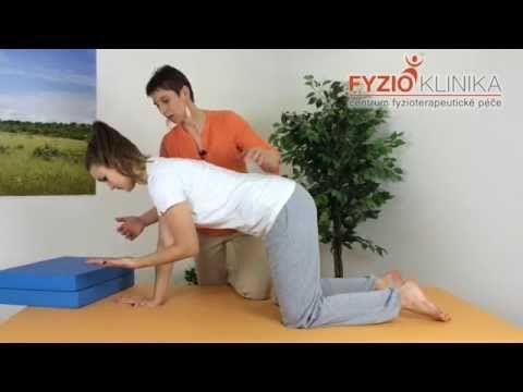 Cvičení Ludmily Mojžíšové pro úlevu od bolesti páteře do rotace - YouTube