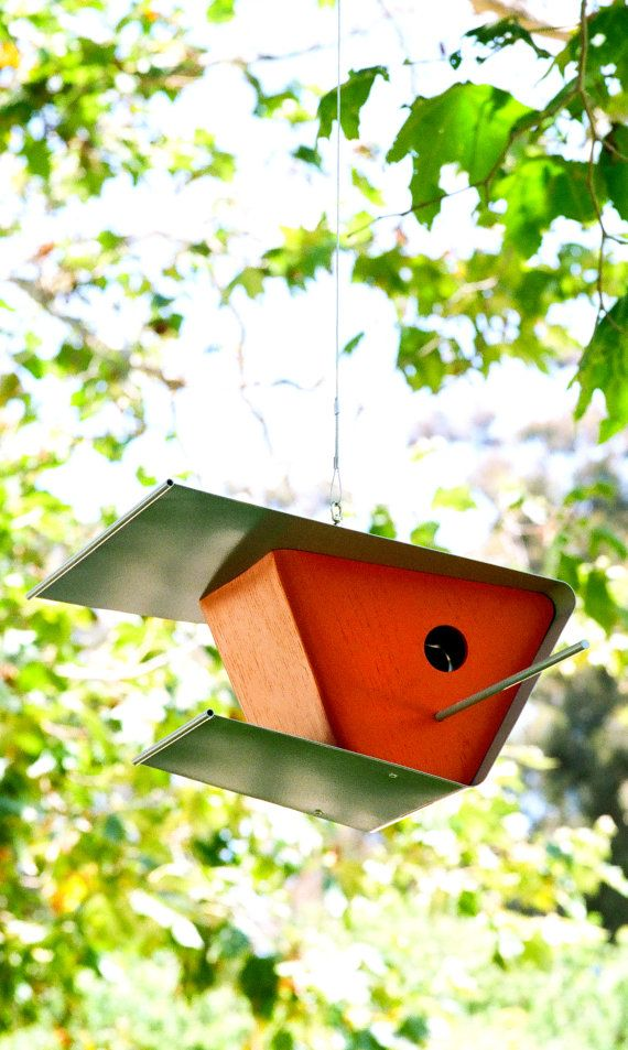 Modern bird feeder designs woodworking projects plans for Birdhouse project