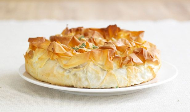 Spinach and ricotta phyllo pie - Yuppiechef Magazine