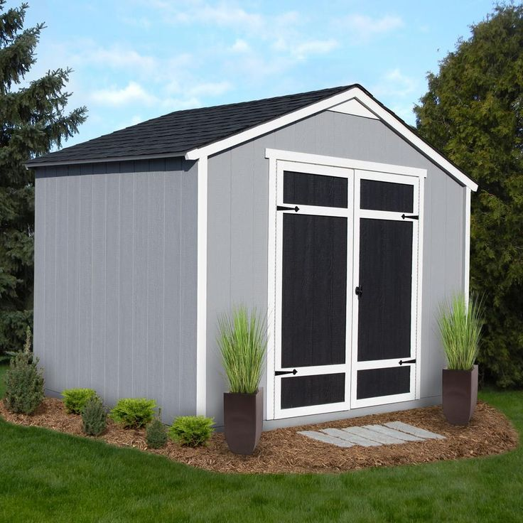 Best Handy Home Products Installed Monarch 8 Ft X 10 Ft Wood 400 x 300