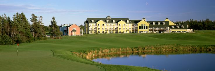 Rodd Crowbush Golf & Beach Resort, Morell, Prince Edward Island, Canada - This 5-star resort overlooks PEI's North Shore, with both excellent hotel rooms or cottages for guest to stay in and has a world class golf course.