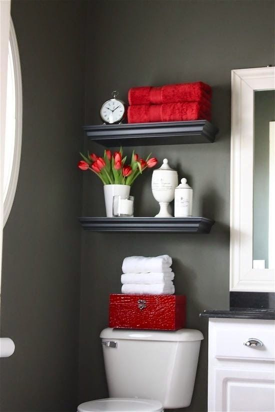 Choose a neutral wall color and change the look of a room by simply switching out the accessories.