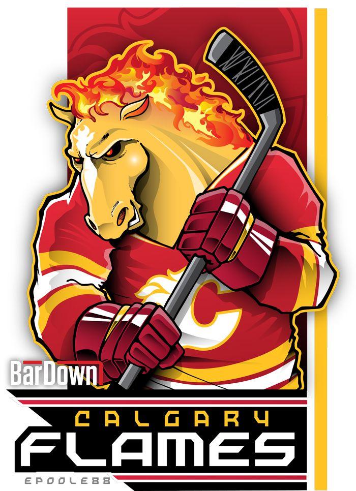 BarDown: NHL Cartoon Mascots: Pacific Division