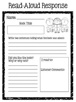 This handout makes a great homework assignment for beginning readers. It includes space for them to respond to what they have read-aloud, and for the listener to comment on their reading! Aligns with common core reading skills for first and second grade:  CCSS.ELA-LITERACY.RL.2.2 Recount stories, including fables and folktales from diverse cultures, and determine their central message, lesson, or moral.