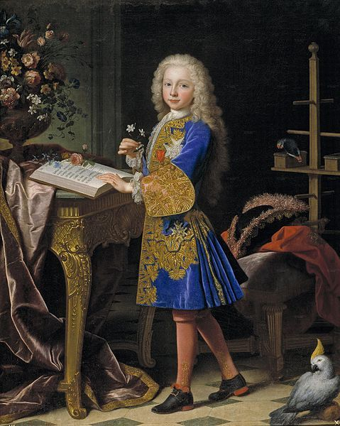 Carlos III of Spain (first son of Felipe V of Spain and his second wife, Isabel de Farnesio) as a child, Jean Ranc, c. 1724