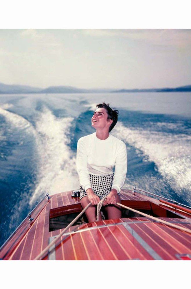 14_Audrey Hepburn_on a lake in Bürgenstock (Switzerland), in August 195414_ Hans Greber.jpg