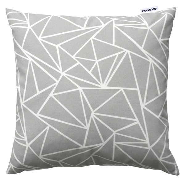 Geometric pillow.