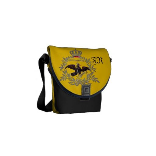 Prussian Battle Flag 1741 Courier Bags