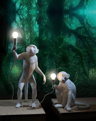 Lampe de table Monkey Sitting / H 32 cm - Seletti