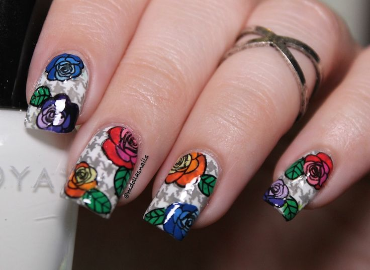 Mdollas nails: Double stamping