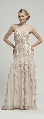 50's Evening dress