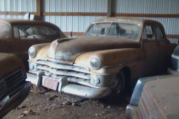 Barn Collection: 1950 Chrysler New Yorker - http://barnfinds.com/barn-collection-1950-chrysler-new-yorker/