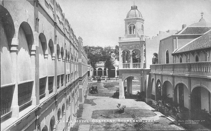 Hotel Oranje Surabaya 1910