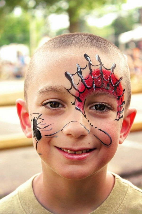Cool Painting, Cool Face Painting Ideas For Kids, http://hative.com/cool-face-painting-ideas-for-kids/,