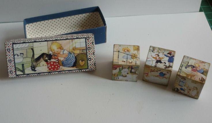 Wood Cube Childrens Artist Margret Savelsberg.