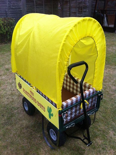 Diy Kidsu0027 Covered Wagon