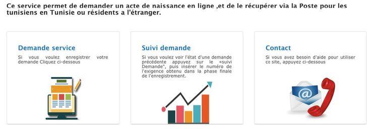 Tunisie: Votre extrait de naissance en ligne, cest possible !