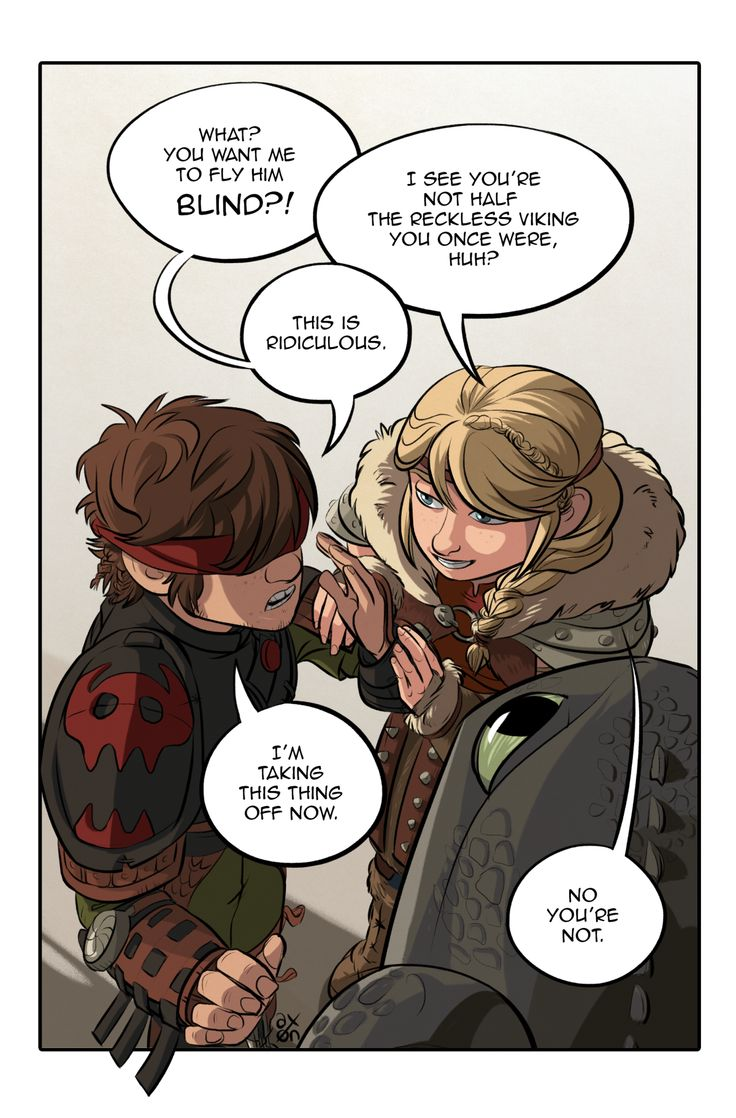 Think, Hiccup and astrid fucking apologise, but