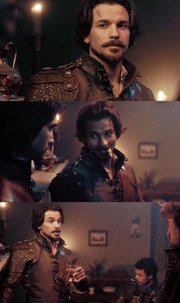 Santiago Cabrera as Aramis in The Musketeers. I'm convinced he was pretty much born to play this role. He's too perfect in this show... (conveniently, someone on tumblr had a picture of a cartoon Aramis from the 90s that looks EXACTLY like Santiago with a similar comment about him being born to play this role.)