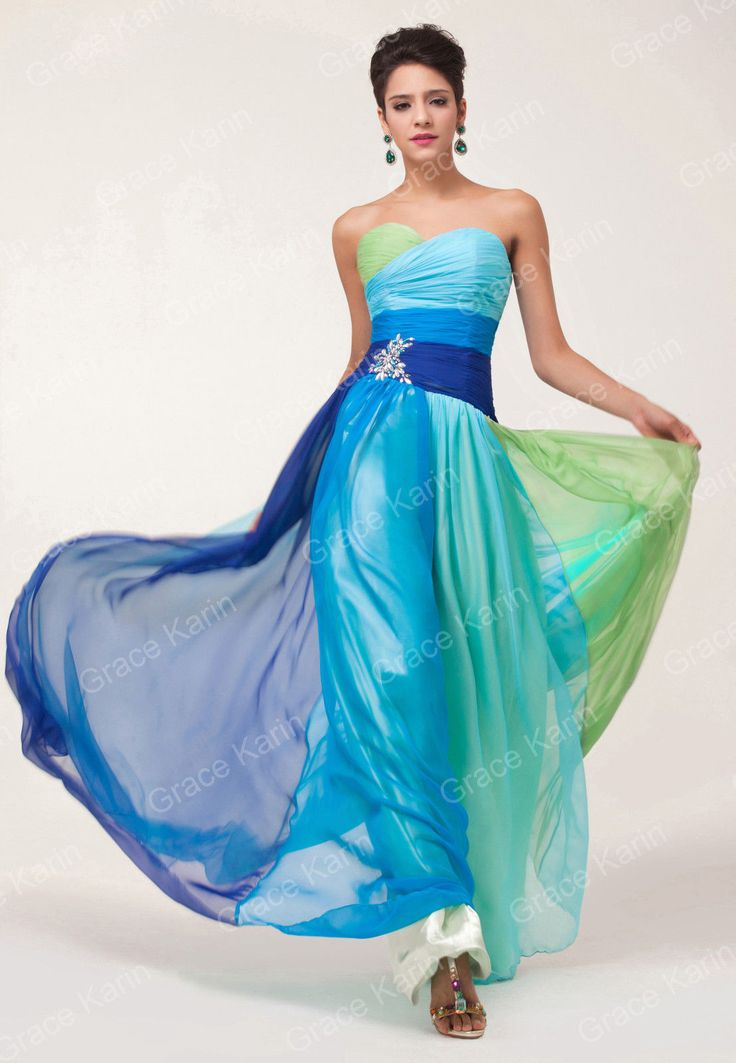 82 best PROM images on Pinterest Chiffon Long dresses and