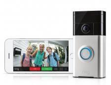 Ring Doorbell - Video Ringeklokke med kamera og app | sikkerheten-selv.no | Røykvarsler, ringeklokker, våpenskap