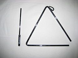 Triangle (This was my favorite instrument to play in the first grade! :)