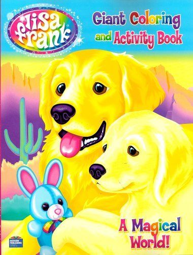 14 best Lisa Frank Coloring books images on Pinterest | Activity ...