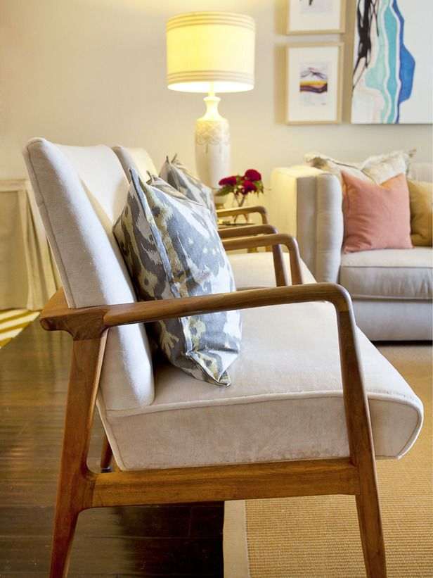 Let Wood Details Take Center Stage - Add Midcentury Modern Style to Your Home  on HGTV..love this chair.