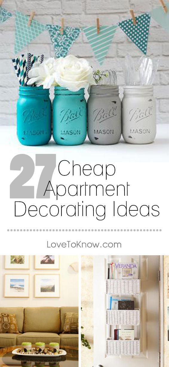 Decorate Your Apartment Cheaply By Repurposing And Upcycling Every Day Items A Few Id Cheap Apartment Decorating Apartment Decor Apartment Interior Decorating