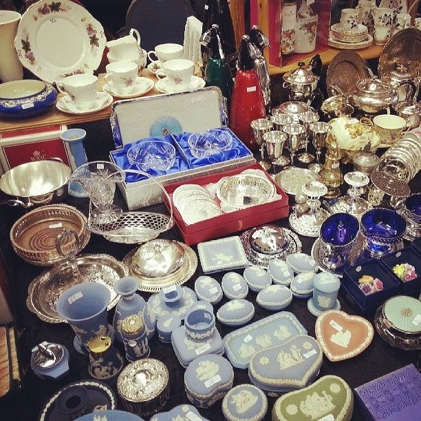 Date idea: Search through old treasures at a flea market