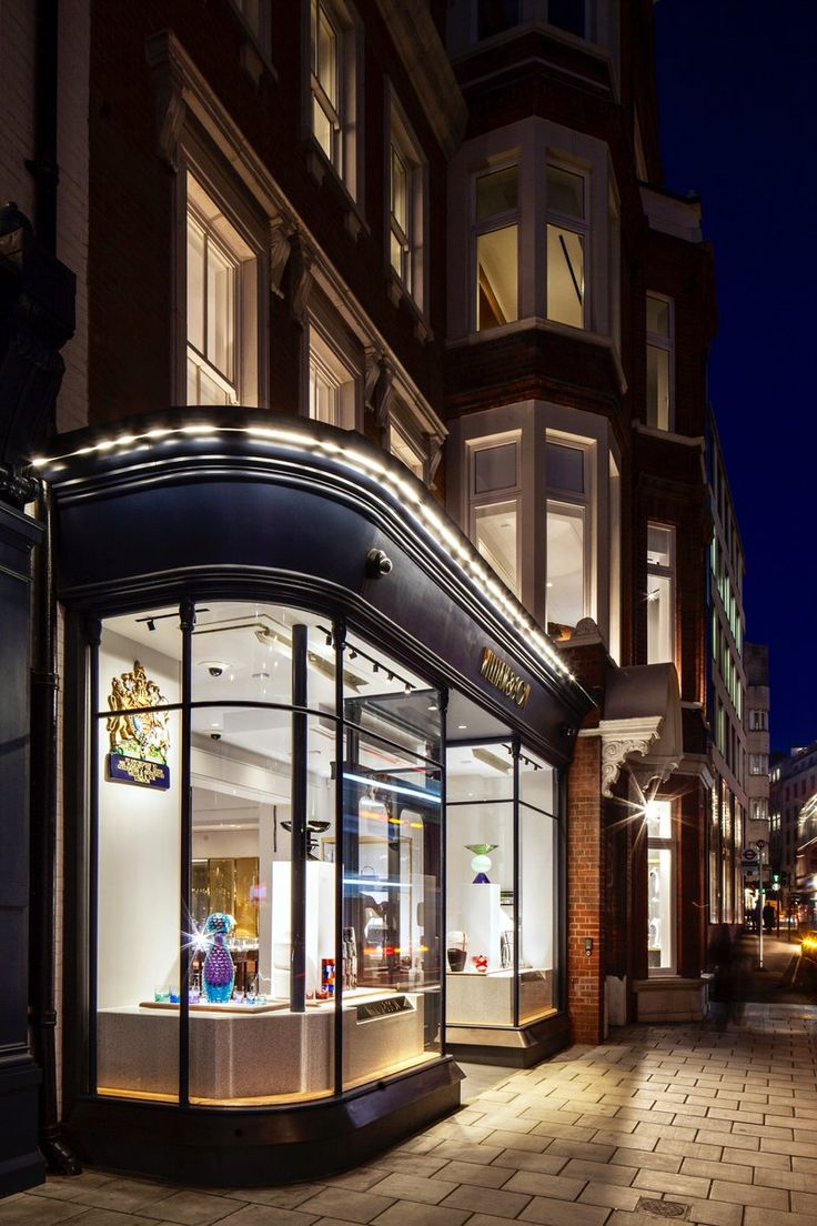 William & Son 34 - 36 Bruton Street London, United Kingdom Built 2015  Lighting Design Consultancy: Nulty  Photography: James French