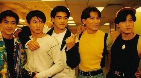 Jimmy Lin, Nicky Wu,Takeshi Kaneshiro, Andy Lau, Aaron Kwok: The Kings.. my Youth dreams... almost forgotten. Xixixixi