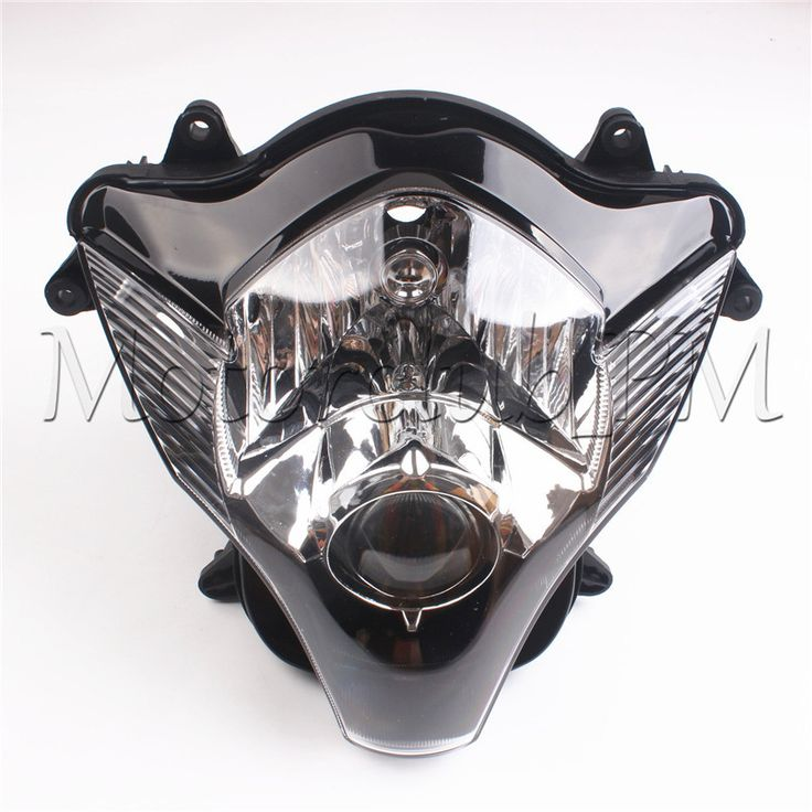 Motorcycle Front Head lamps For Suzuki GSXR 600 750 K6 2006 2007 Lightings Headlight Replacements Clear #Affiliate