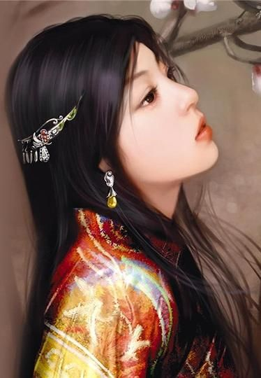 chinese art - ✯ http://www.pinterest.com/PinFantasy/arte-~-la-mujer-en-el-arte-chino-women-in-chinese-/