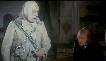 """This is Jacob Marley. He is the ghost of Christmas past. He is in my Halloween folder, because this protrayal of Jacob Marley was one of the first """"ghosts"""" to ever scare me."""