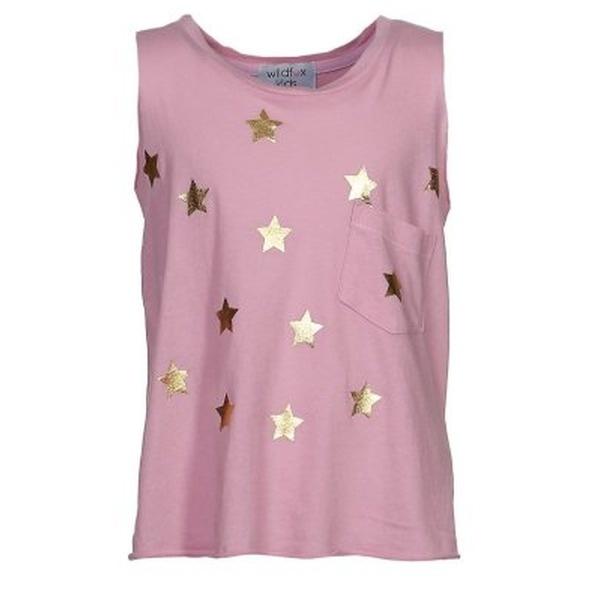 Wildfox SHINING STAR CHARLIE Top pink soda    Wildfox SHINING STAR CHARLIE Top pink soda: Wildfox holt für Mädchen die Sterne vom Himmel - und setzt sie damit gekonnt in Szene! Mit SHINING STAR CHARLIE strahlen sie selbst wie ein Star und begeistern mit Sinn für Mode.