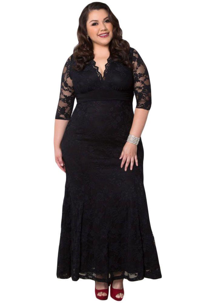 Maxi dress ronde