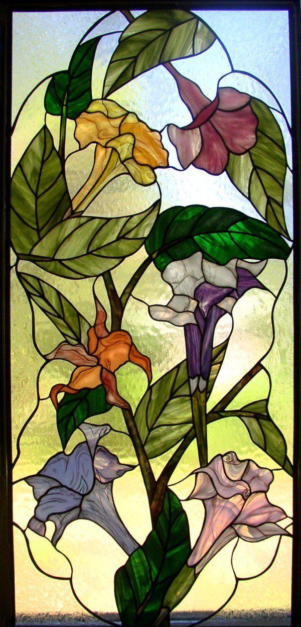 Brugmansia Window by Kelley Studios
