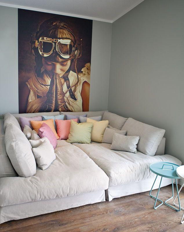 Heaven sohva #asuntomessut2015 Passiivikivitalo kohde 28
