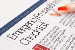 California Earthquake Insurance: Homeowner's Emergency Checklist
