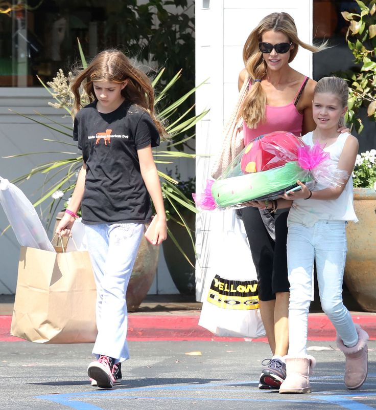 Denise Richards & Daughters: Party Prep - http://site.celebritybabyscoop.com/cbs/2015/05/24/denise-richards-daughters-party #CharlieSheen, #DeniseRichards, #LolaSheen, #Party, #SamSheen