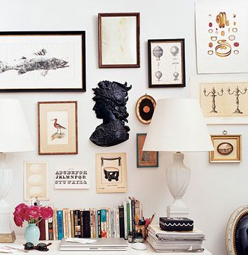A CUP OF JO: Home Inspiration: Frame Walls