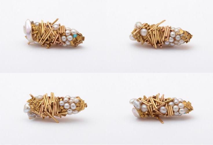 Les Larves dorées de Trichoptères de Hubert Duprat (5)