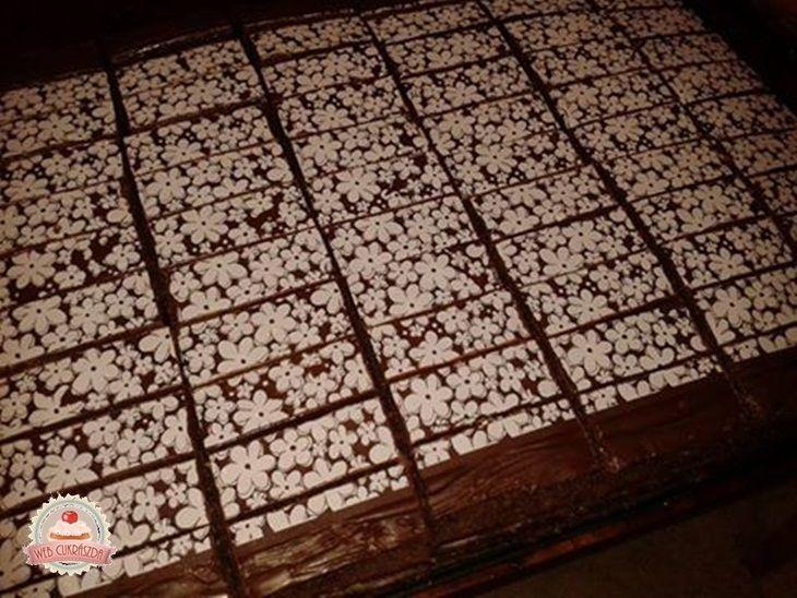 Kókusz-csoki szelet Eta módra