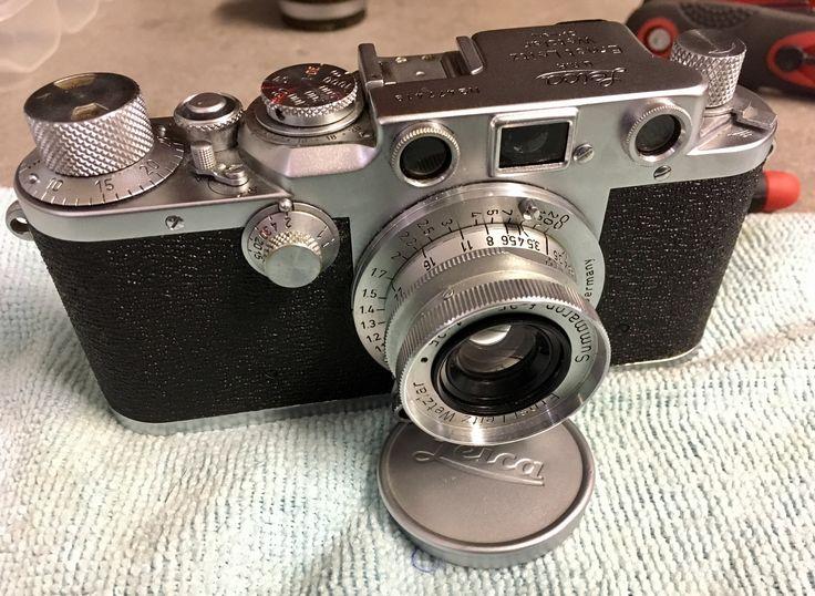 Leica IIIc mod IIIf Elmar 5cm