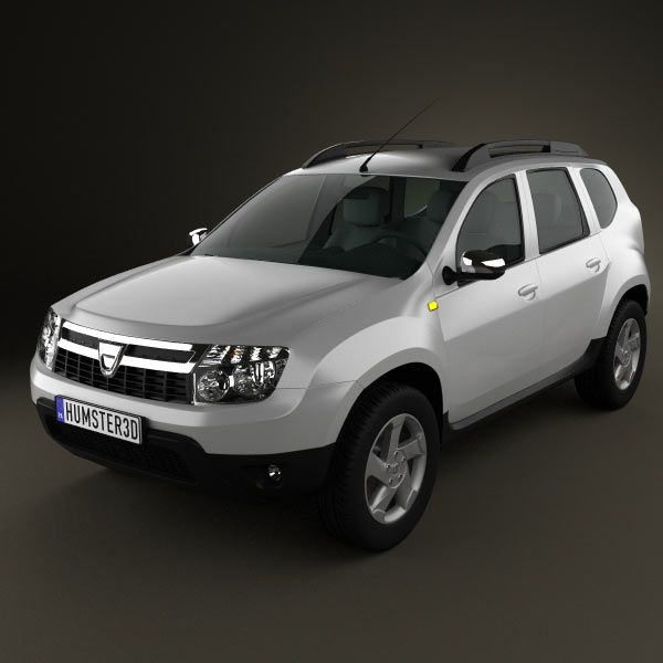 dacia duster 3d model models and 3d. Black Bedroom Furniture Sets. Home Design Ideas