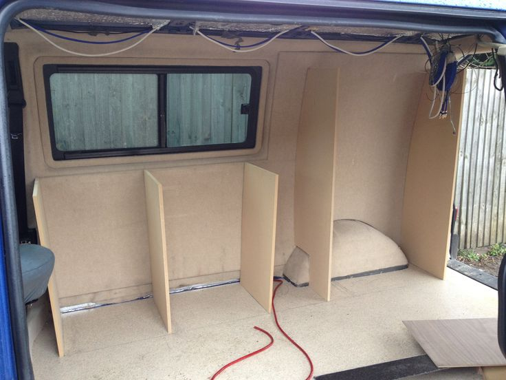 Camper units in progress