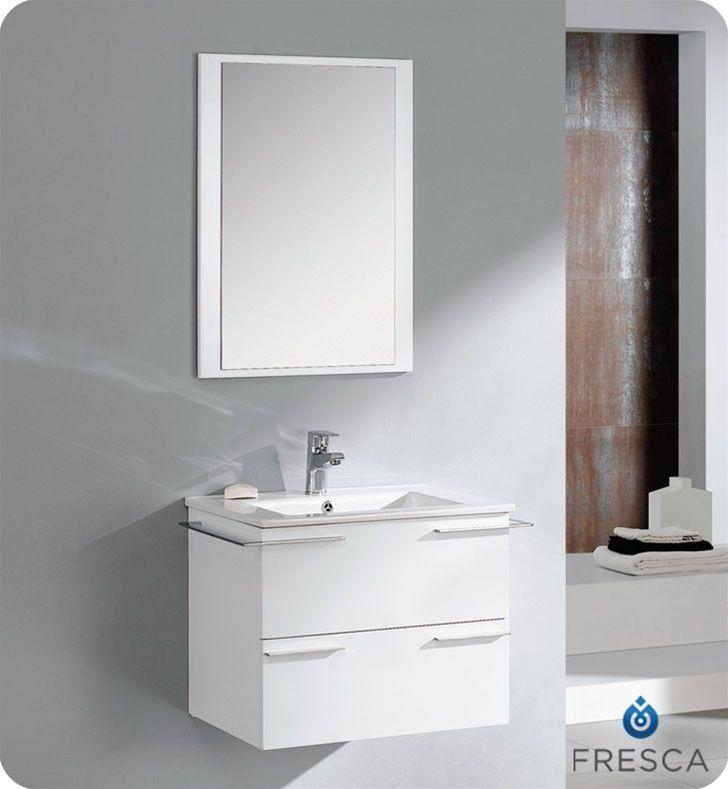 10 best vanity sinks alexius white wall mount hung images on pinterest bathroom sinks white for Modern bathroom vanities for less