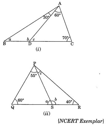 The Triangles and its Properties Class 7 Extra Questions